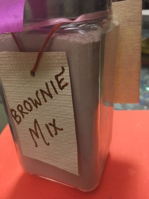 Homemade Brownie Mix / Instant Brownie Mix