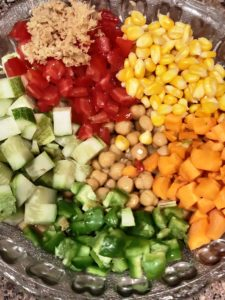 Healthy Chana Salad (ChickPea Salad)