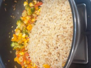 Mix in Brown Rice