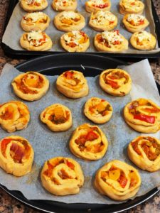 Pizza Rolls to go into oven