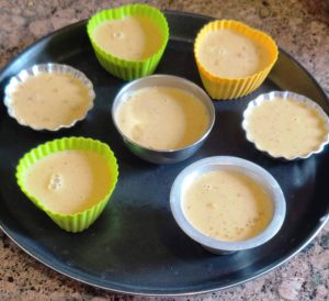 Set Thandai Panna Cotta in moulds