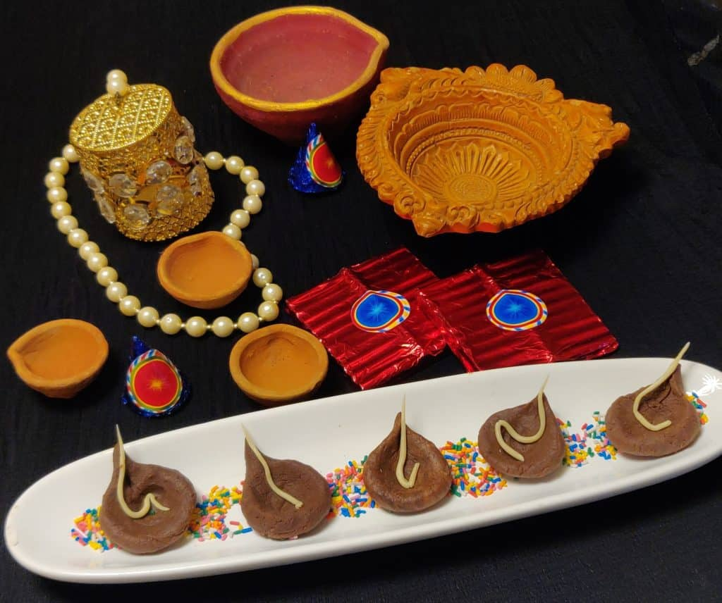 Edible Chocolate  Diyas