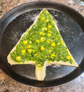 Christmas Tree Bread