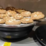 keep the cookies on a steel rack to cool completely