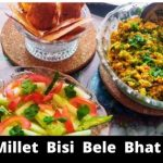 Brown Top Millet Bisi Bele Bhath