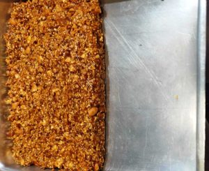 millet and oats energy bar method