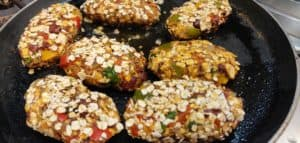 shallow fry these ragi cutlets