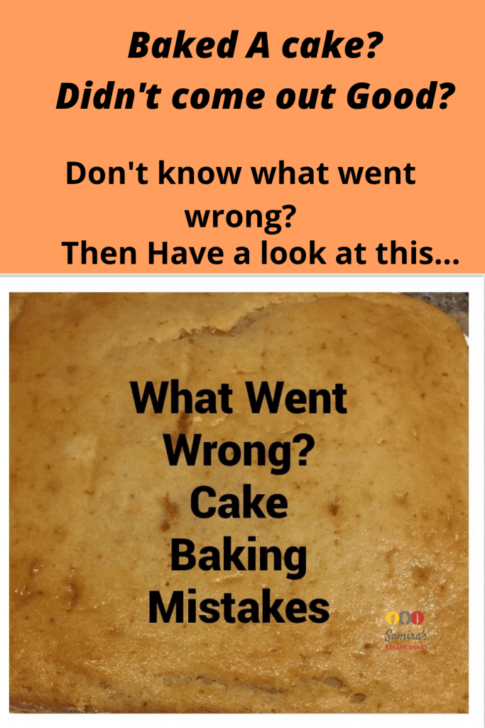 Cake Baking Mistakes, Common Baking Mistakes| Cake Baking Mistakes