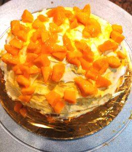 Mango Cake Decoration