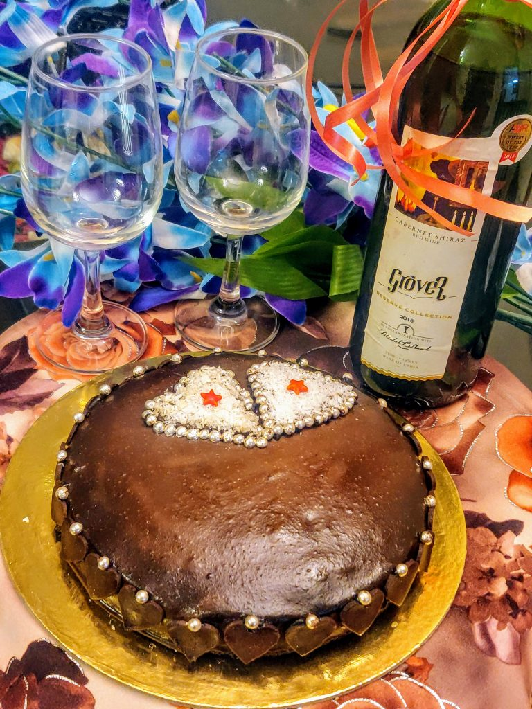Wine Cake Recipe | Chocolate Cake With Red Wine